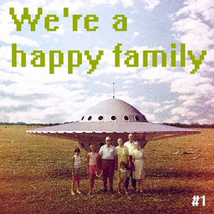 "Compilation ""We're a happy family"""